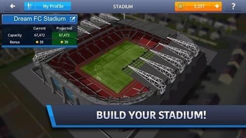 Xây dựng sân vận động của riêng bạn!